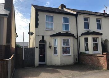 Thumbnail 3 bed end terrace house for sale in Holly Road, Aldershot