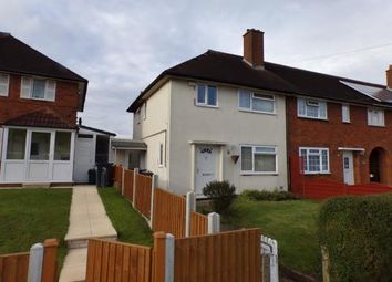 Thumbnail 2 bedroom end terrace house for sale in Rednal Road, Birmingham, West Midlands