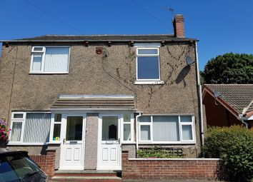 Thumbnail 2 bed semi-detached house to rent in Skellow Road, Carcroft, Doncaster