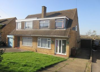 Thumbnail 3 bed semi-detached house for sale in Wicklow Avenue, Melton Mowbray