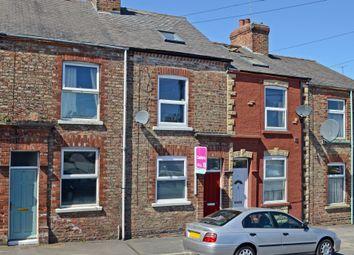 Thumbnail 4 bed terraced house for sale in Lamel Street, York