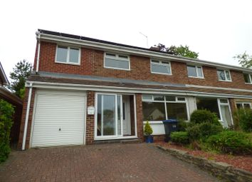 Thumbnail 4 bed semi-detached house for sale in The Meadows, West Rainton, Houghton Le Spring