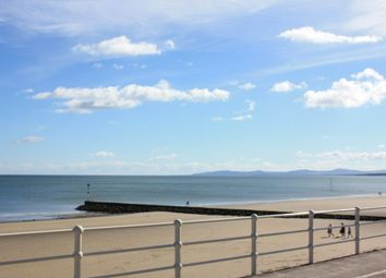 Thumbnail 3 bed flat for sale in West Promenade, Rhos On Sea
