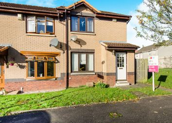 Thumbnail 2 bed end terrace house for sale in Dunottar Place, Coatbridge