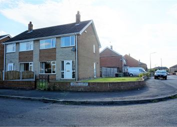Thumbnail 3 bed semi-detached house for sale in Linden Close, Doncaster