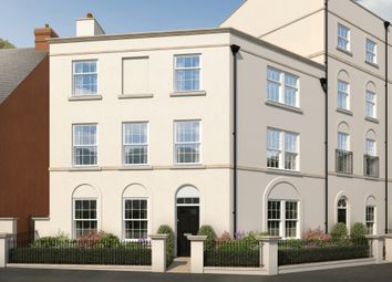 "Thumbnail 5 bed end terrace house for sale in ""The Buckfast"" at Haye Road, Sherford, Plymouth"