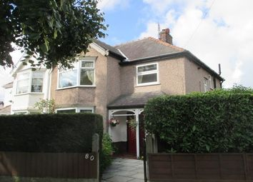 Thumbnail 3 bed property to rent in Dovedale Road, Mossley Hill, Liverpool