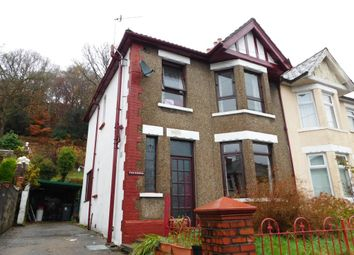 Thumbnail 3 bed semi-detached house for sale in Sofrydd Road, Crumlin, Newport