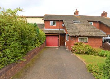 Thumbnail 3 bedroom terraced house for sale in Yeo View, Yeoford, Crediton, Devon