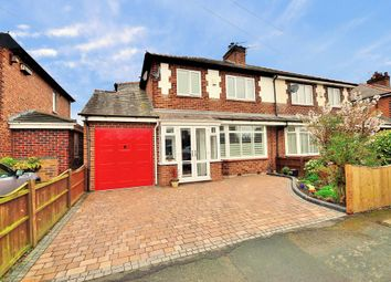 Thumbnail 3 bed semi-detached house for sale in Ackers Lane, Stockton Heath, Warrington