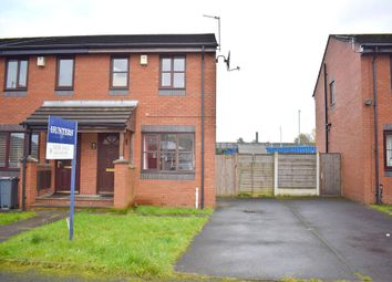 Thumbnail 2 bed semi-detached house for sale in Dob Brook Close, Manchester