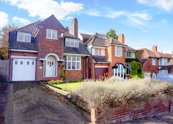 Thumbnail 4 bed detached house for sale in Leopold Avenue, Handsworth Wood, Birmingham, West Midlands