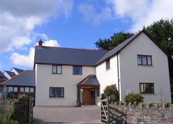 Thumbnail 5 bed detached house for sale in Leven Close, Pill Road, Hook, Haverfordwest