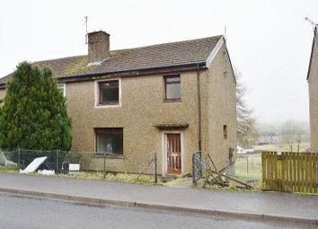 Thumbnail 3 bed semi-detached house for sale in 31, Ashmark Avenue, Cumnock, East Ayrshire KA184EU