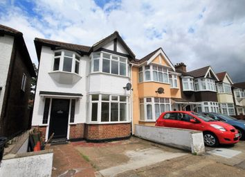 Thumbnail 3 bed semi-detached house to rent in Kingsmead Avenue, Romford