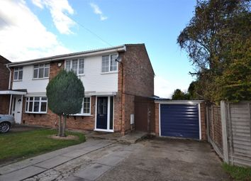 Thumbnail 3 bed semi-detached house for sale in Byron Road, Royston