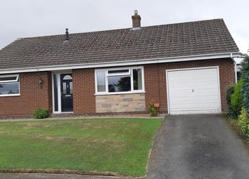 Thumbnail 3 bed detached bungalow for sale in 24 Pentrosfa Road, Llandrindod Wells
