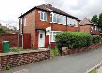 Thumbnail 2 bed semi-detached house for sale in Long Street, Abbey Hey, Manchester