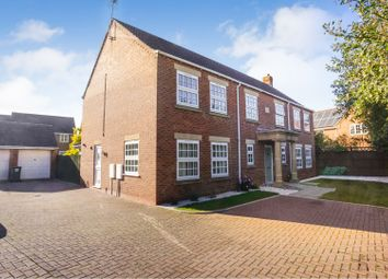 Thumbnail 5 bed detached house for sale in Macphail Crescent, Saxilby, Lincoln