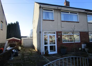 Thumbnail 3 bedroom semi-detached house for sale in Glantawe Park, Ystradgynlais, Swansea.