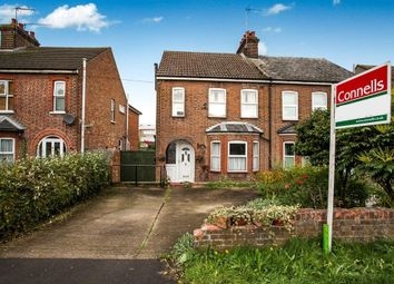 Thumbnail 3 bed semi-detached house to rent in Houghton Road, Dunstable
