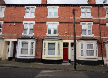 Thumbnail 4 bedroom terraced house for sale in Myrtle Avenue, Nottingham