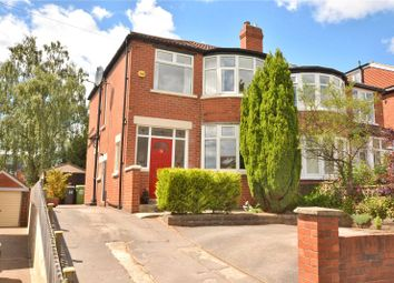 Thumbnail 3 bed semi-detached house for sale in Kingswood Crescent, Leeds, West Yorkshire
