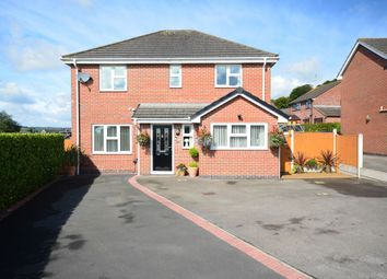Thumbnail 4 bed detached house for sale in Glebe Gardens, Cheadle