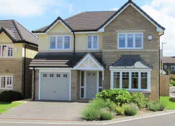 Thumbnail 4 bed detached house for sale in Banks Approach, Banks Road, Golcar, Huddersfield