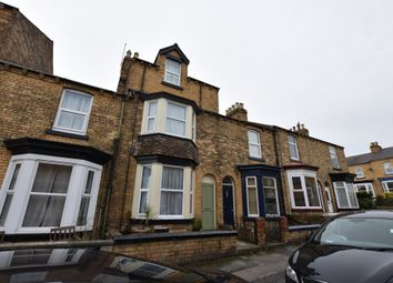 Thumbnail 4 bed terraced house for sale in Franklin Street, Scarborough