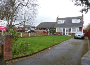 Thumbnail 4 bed detached bungalow for sale in Cobham Road, Moreton, Wirral