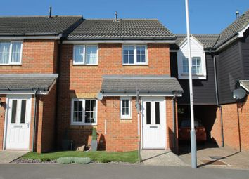 Thumbnail 3 bed terraced house for sale in Campbell Road, Hawkinge, Folkestone