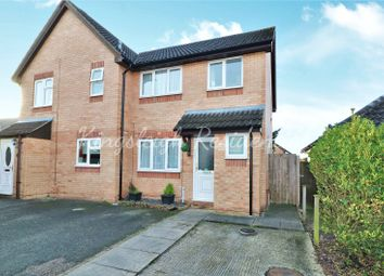 Thumbnail 3 bed semi-detached house for sale in Bignell Croft, Highwoods, Colchester, Essex
