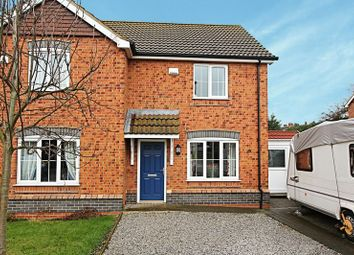 Thumbnail 3 bedroom semi-detached house for sale in Kingfisher Close, Barton-Upon-Humber