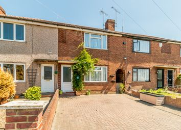 Thumbnail 3 bed terraced house for sale in Cassiobury Avenue, Feltham, London