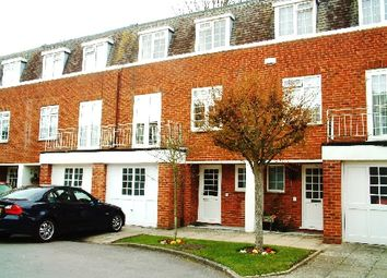 Thumbnail 4 bed town house to rent in Portarlington Close, Westbourne, Bournemouth