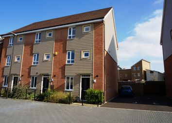 Thumbnail 4 bed end terrace house for sale in Mildmay Link, Stratford Park, Wolverton