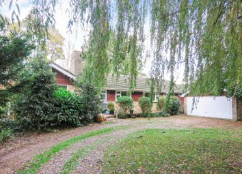 Thumbnail 4 bed detached bungalow for sale in Gore Tree Road, Hemingford Grey, Huntingdon