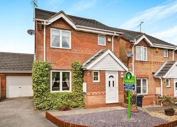 Thumbnail 3 bed detached house for sale in Pinewood Close, Alfreton