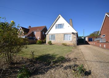 Thumbnail 3 bed detached bungalow for sale in Stoke Holy Cross, Norwich