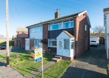 Thumbnail 3 bed semi-detached house for sale in Shirley Avenue, Ramsgate