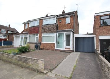Thumbnail 3 bed semi-detached house for sale in Thompson Road, Denton