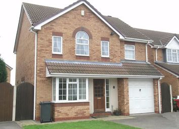 Thumbnail 4 bed detached house to rent in Selker Drive, Amington, Tamworth, Staffordshire