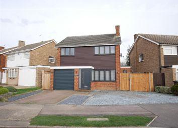 Thumbnail 3 bed detached house for sale in Lulworth Avenue, Goffs Oak, Waltham Cross