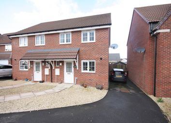 Thumbnail 3 bed semi-detached house for sale in Laxton Crescent, Evesham