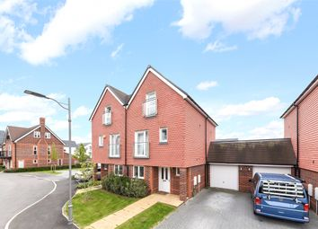 Thumbnail 4 bed semi-detached house for sale in Williams Road, Oxted, Surrey