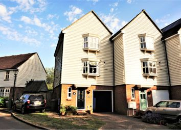 Thumbnail 3 bed town house for sale in Waters Edge, Pulborough
