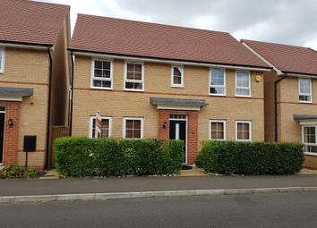 Thumbnail 4 bed detached house for sale in Justice Way, Hampton Vale, Peterborough