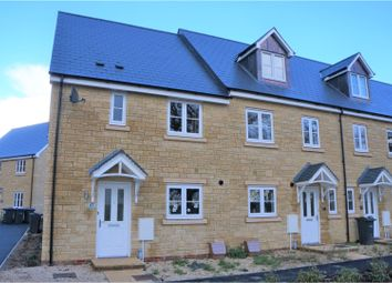 Thumbnail 3 bed end terrace house for sale in Milbourne Way, Chippenham