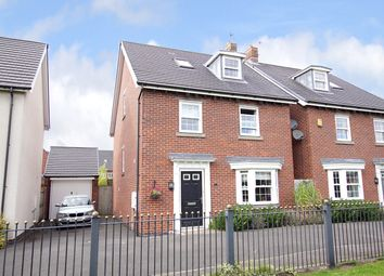Thumbnail 4 bed detached house for sale in Michigan Place, Warrington